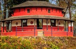 Ένα χαρακτηριστικό σπίτι Nepali Στοκ εικόνα με δικαίωμα ελεύθερης χρήσης