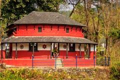 Ένα χαρακτηριστικό σπίτι Nepali Στοκ Φωτογραφίες