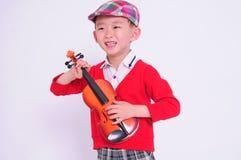 Ένα χαριτωμένο κινεζικό αγόρι Στοκ εικόνες με δικαίωμα ελεύθερης χρήσης