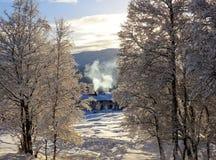 Ένα χειμερινό πρωί Στοκ φωτογραφίες με δικαίωμα ελεύθερης χρήσης