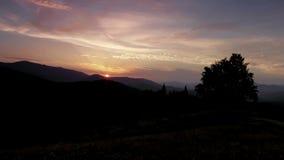 Ένα χρονικό σφάλμα ενός ηλιοβασιλέματος φιλμ μικρού μήκους