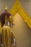 Ένα χρυσό άγαλμα του Βούδα, Μπανγκόκ, Ταϊλάνδη Στοκ εικόνες με δικαίωμα ελεύθερης χρήσης