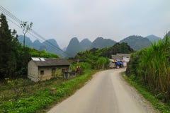 Ένα χωριό, εκτάριο Giang, βόρειο Βιετνάμ Στοκ φωτογραφία με δικαίωμα ελεύθερης χρήσης