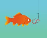 Ένα ψάρι που είναι Στοκ Εικόνα