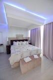 Ένα δωμάτιο ξενοδοχείων πολυτελείας Στοκ εικόνα με δικαίωμα ελεύθερης χρήσης