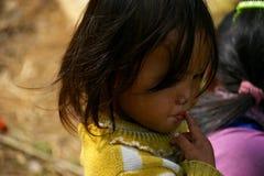 Ένα όμορφο βιετναμέζικο κορίτσι, ένας αντιπρόσωπος μιας μικρής εθνικής ομάδας Εθνικές μειονότητες σε Sapa Sapa, Βιετνάμ, λαοτιανό στοκ εικόνα με δικαίωμα ελεύθερης χρήσης