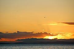 Ένα όμορφο καναδικό ηλιοβασίλεμα Στοκ φωτογραφίες με δικαίωμα ελεύθερης χρήσης
