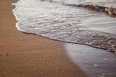 Ένα όμορφο τοπίο των αμμόλοφων στην ακτή της θάλασσας της Βαλτικής Στοκ φωτογραφίες με δικαίωμα ελεύθερης χρήσης