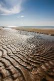 Ένα όμορφο τοπίο των αμμόλοφων στην ακτή της θάλασσας της Βαλτικής Στοκ Εικόνα