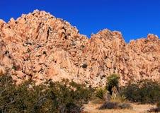 Ένα δύσκολο τοπίο στην έρημο της Καλιφόρνιας Στοκ Εικόνες