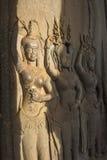 Ένα Apsara σε Angkor wat, Καμπότζη Στοκ Φωτογραφίες