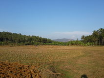 Ένα beuty πλήρες έδαφος scape με το βουνό στοκ φωτογραφία με δικαίωμα ελεύθερης χρήσης