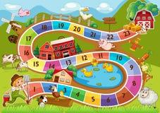 Ένα boardgame διανυσματική απεικόνιση