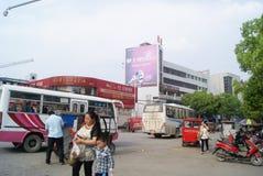 Ένα Jiang, Κίνα: τοπίο πόλεων Στοκ Εικόνες