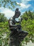 Ένα musicial scrupture στο πάρκο Στοκ φωτογραφία με δικαίωμα ελεύθερης χρήσης