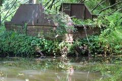 Ένα ruine Στοκ Εικόνες