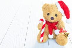 Ένα Santa αντέχει την κούκλα στοκ φωτογραφίες με δικαίωμα ελεύθερης χρήσης