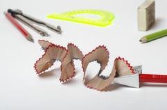 Ένα sharpner για τα pensils Στοκ φωτογραφίες με δικαίωμα ελεύθερης χρήσης