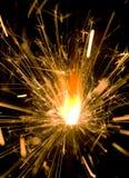 Ένα Sparkler Στοκ Φωτογραφία