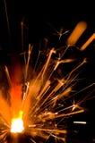 Ένα Sparkler Στοκ φωτογραφία με δικαίωμα ελεύθερης χρήσης