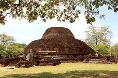 Ένα Stupa σε Polonnaruwa, Σρι Λάνκα Στοκ Εικόνες