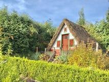 Ένα tipical σπίτι στη Μαδέρα Στοκ Φωτογραφίες