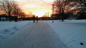Ένα winterday ι Σουηδία Στοκ φωτογραφίες με δικαίωμα ελεύθερης χρήσης