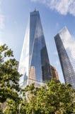 Ένα World Trade Center - Πύργος της Ελευθερίας Στοκ Εικόνες