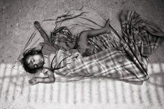 ένδεια παιδιών Στοκ φωτογραφίες με δικαίωμα ελεύθερης χρήσης