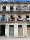 Ένδεια σε παλαιό Habana στην Κούβα στοκ εικόνες