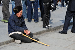 Ένδεια στην Κίνα στοκ φωτογραφία με δικαίωμα ελεύθερης χρήσης