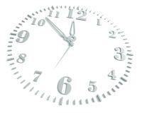 'Ένδειξη ώρασ', σε μια άσπρη ανασκόπηση Στοκ Εικόνες