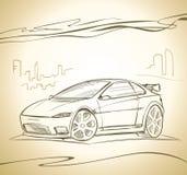 έννοιας αυτοκινήτων ελεύθερη απεικόνιση δικαιώματος