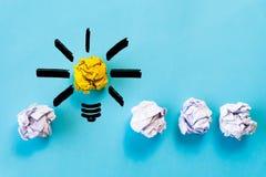 Έννοια έμπνευσης και μεγάλης ιδέας Λ στοκ εικόνες