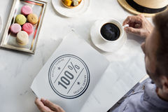 Έννοια έμπνευσης φαντασίας ιδεών δημιουργικότητας 100% Στοκ Φωτογραφία