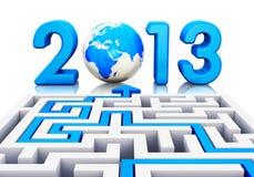 έννοια έτους του 2013 Στοκ φωτογραφίες με δικαίωμα ελεύθερης χρήσης