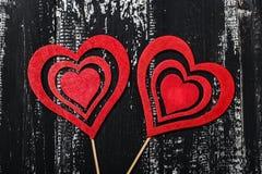 Έννοια αγάπης για την ημέρα μητέρων ` s και την ημέρα βαλεντίνων ` s βαλεντίνος Αγάπη βαλεντίνος καρτών s ημέρας Ευτυχείς καρδιές Στοκ Εικόνες