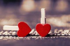 Έννοια αγάπης για την ημέρα μητέρων ` s και την ημέρα βαλεντίνων ` s βαλεντίνος Αγάπη βαλεντίνος καρτών s ημέρας Ευτυχείς καρδιές στοκ φωτογραφία