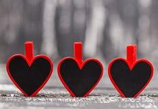 Έννοια αγάπης για την ημέρα μητέρων ` s και την ημέρα βαλεντίνων ` s βαλεντίνος Αγάπη βαλεντίνος καρτών s ημέρας Ευτυχείς καρδιές Στοκ φωτογραφίες με δικαίωμα ελεύθερης χρήσης