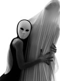 Έννοια αγάπης εκτελεστών χορευτών ζεύγους Στοκ φωτογραφίες με δικαίωμα ελεύθερης χρήσης