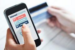 Έννοια αγορών Διαδικτύου στοκ φωτογραφίες με δικαίωμα ελεύθερης χρήσης