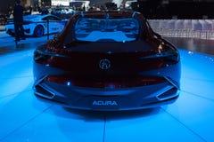 Έννοια ακρίβειας Acura στην επίδειξη στοκ φωτογραφία με δικαίωμα ελεύθερης χρήσης