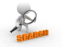 Έννοια αναζήτησης απεικόνιση αποθεμάτων