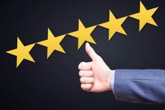 Έννοια αναθεώρησης, εκτίμησης, ταξινόμησης, αξιολόγησης και ταξινόμησης Στοκ φωτογραφίες με δικαίωμα ελεύθερης χρήσης
