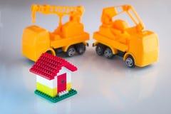 Έννοια ανακαίνισης κατασκευής σπιτιών Στοκ φωτογραφία με δικαίωμα ελεύθερης χρήσης