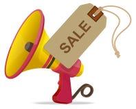 Έννοια ανακοίνωσης πώλησης Στοκ Εικόνες