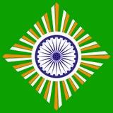Έννοια ανεξαρτησίας της Ινδίας Στοκ φωτογραφία με δικαίωμα ελεύθερης χρήσης