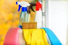 Έννοια ανοιξιάτικου καθαρισμού στοκ φωτογραφία με δικαίωμα ελεύθερης χρήσης