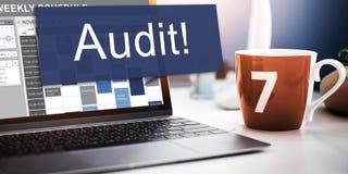 Έννοια αξιολόγησης αξιολόγησης της λογιστικής λογιστικής λογιστικού ελέγχου Στοκ εικόνες με δικαίωμα ελεύθερης χρήσης