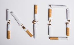 Έννοια απαγόρευσης του καπνίσματος Στοκ Εικόνες